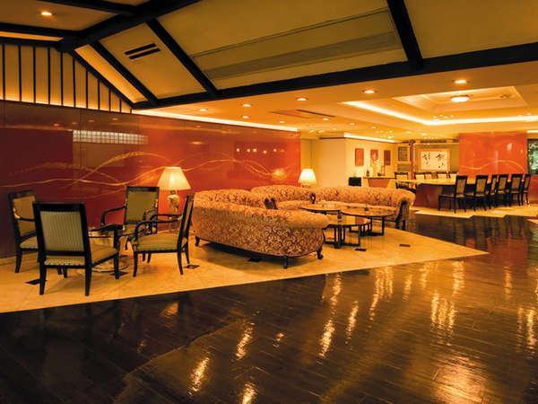 鬼怒川パークホテルズメインロビー※パークホテルズ木楽館内の共通施設