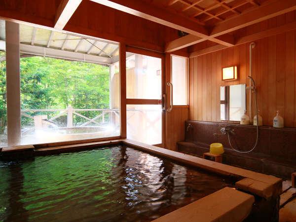 *貸切風呂なごみ◆空間すべてを木材で作っており、優しさを感じるお風呂となっております。