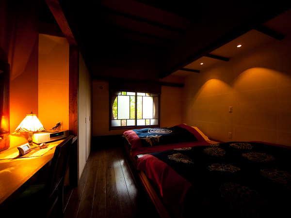 8室のお部屋はそれぞれテーマを設けられており全て離れタイプになっております。