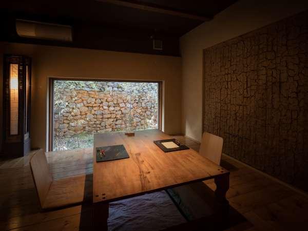 個室お食事処があり、他のお客様と接することなくプライベートなお時間をお愉しみいただけます。