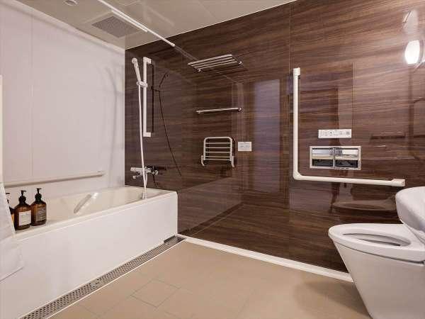 プレミア6ユニバーサルルーム:バスルーム