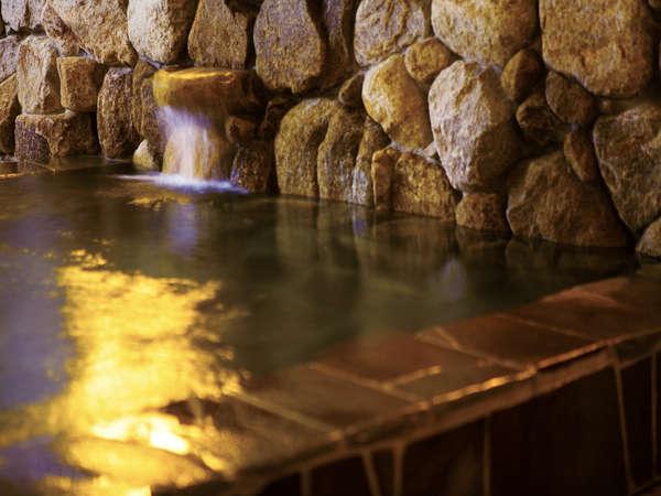 天然温泉でゆったりと♪