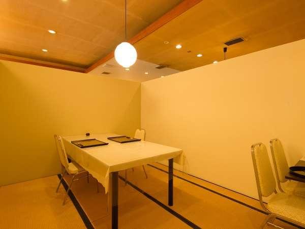 個室食事処【桂寿庵~keizyuann~】イステーブルのお食事もできます。