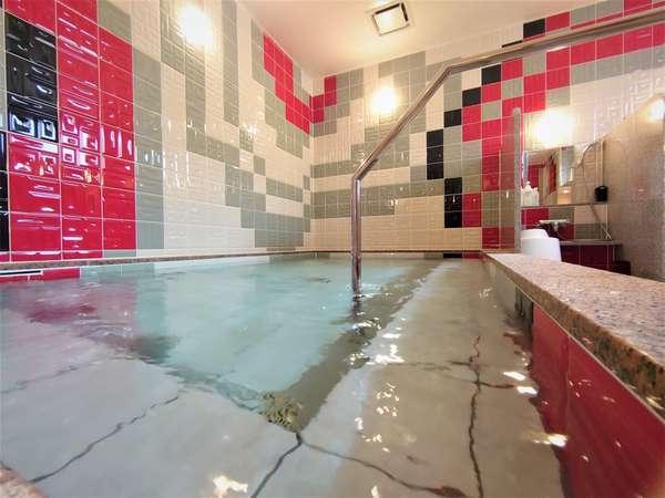 女性大浴場 炭酸カルシウム人工温泉大浴場