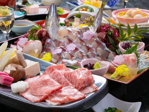 <豊後味覚三昧>高い認定基準をクリアした「おおいた和牛」とブランド魚「関あじ」を堪能
