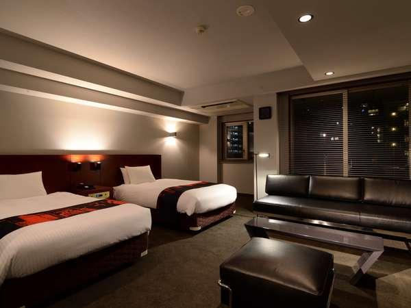 ☆客室☆全室約35㎡以上のゆとりのある客室。一部には電子レンジの設備もあり便利。もちろんWi-Fi無料!
