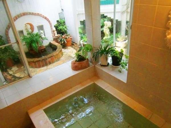 天然温泉の貸切のお風呂♪(24時間お部屋ごと)
