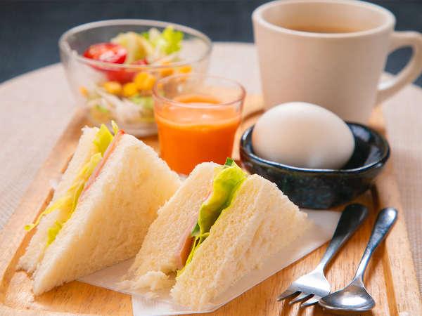 ■日替わり『洋』朝食■朝はパン派のあなたに!野菜もしっかりとれる健康朝食を