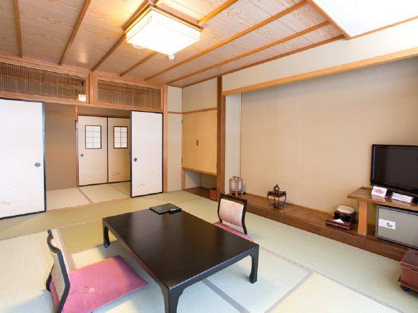 本館・和室10畳+次の間4畳 一例