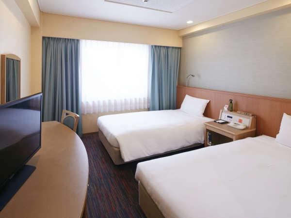 ◆19.5平米のツインルーム (4階~9階)