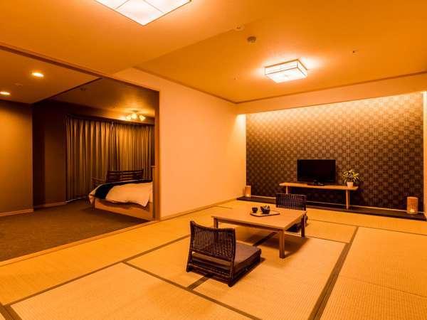 ランクアップ和洋室(ワイド) ※客室の一例