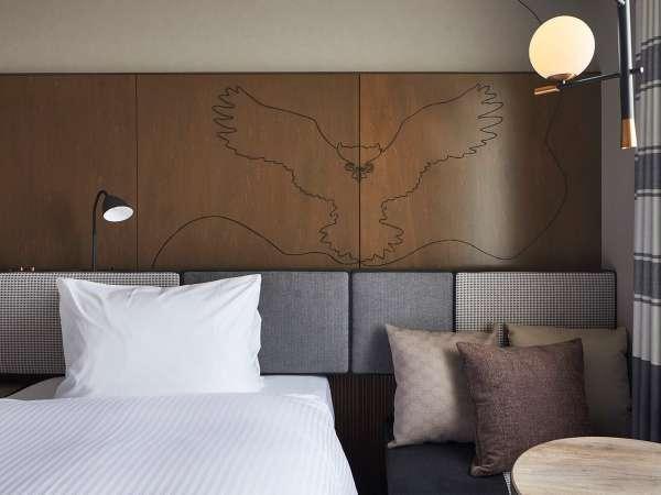 【ツイン】17.95㎡/ご友人同士・ご夫婦でのご旅行に最適な、シングルベッドを2台配置した客室