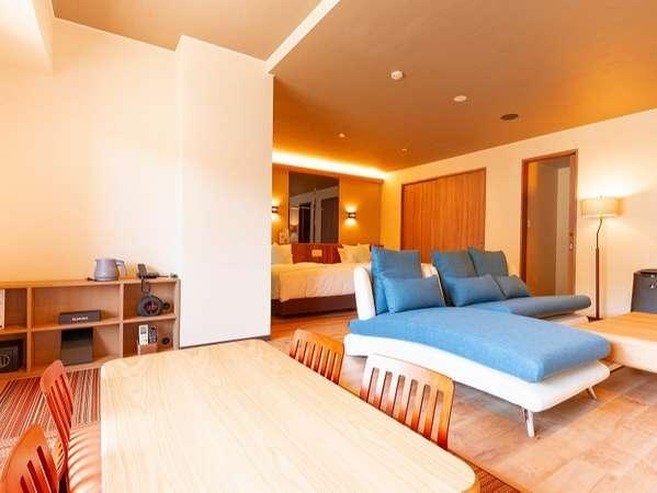 【エグゼクティブオーシャンスイート】天然温泉掛け流し 熱海最大級の広さを誇る当ホテル最上級客室