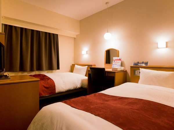【スタンダートツイン】コンパクトなお部屋ですが、リーズナブルな価格でお手軽宿泊OK!