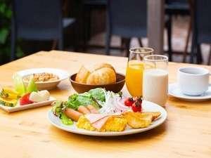 朝食イメージ【彩り豊かな朝のメニュー】