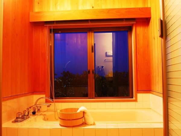 銀波 部屋風呂