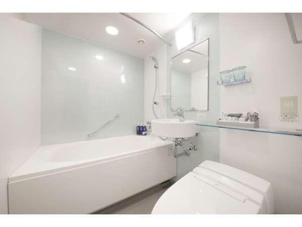 お部屋によってバスルームの内装が異なります。