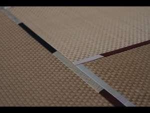 客室の畳には米沢織を使用しています。