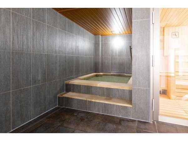 【大浴場】水風呂♪サウナのあとは水風呂へ・・・!