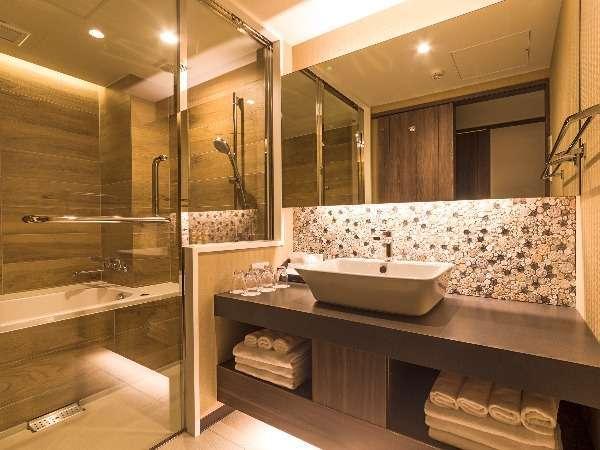 【新館】客室洗面&バスルーム