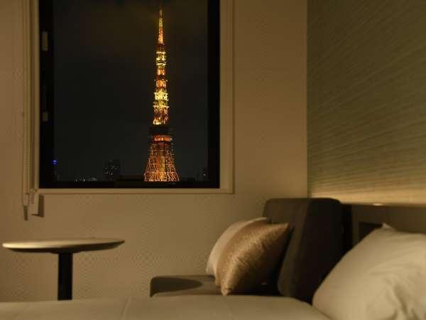 タワービューデラックスツイン・LGスタイラーをはじめとした最新設備で快適なホテルステイを