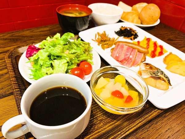 2019年7月朝食がリニューアル!種類が豊富な「和洋ビュッフェ」になりました。