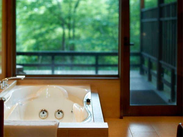 【内風呂イメージ】全室にジェットバス付の内風呂完備(温泉ではありません)