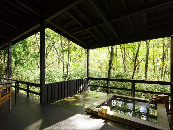 【星野リゾート 界 阿蘇】全室露天風呂付き離れの贅沢 カルデラの地が生んだ大自然にひたる