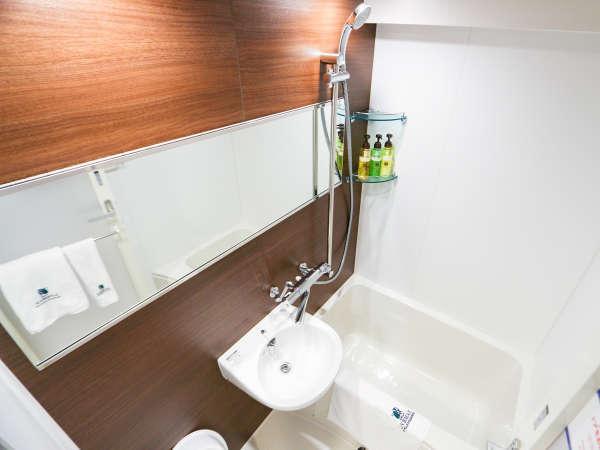 ◆バスルーム(セパレート)◆シングルBルーム・ツインルームはバストイレ別のセパレート♪