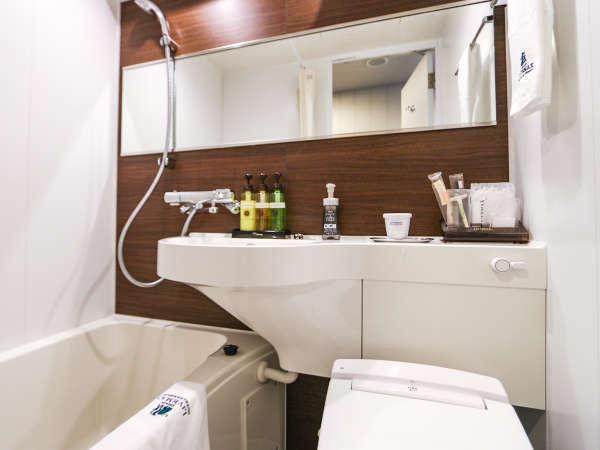 ◆バスルーム(ユニットタイプ)◆シングルAルームのバスルームです