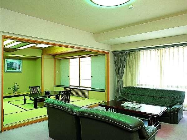 【ジャパニーズスイート】和室10畳+リビングの特別タイプ。(限定1室)