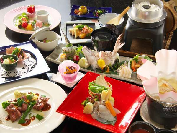 【ハイパーリゾート ヴィラ塩江】大自然の中の本格リゾートホテル♪和洋シェフが作る絶品料理が自慢