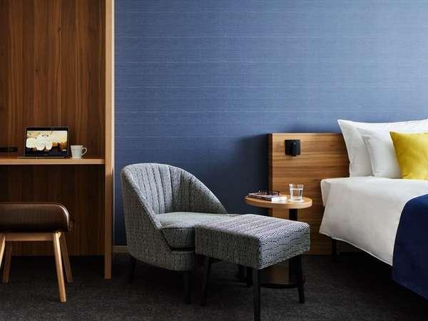 <客室イメージ>デザインと機能性のバランスを追求した、居心地のいい空間