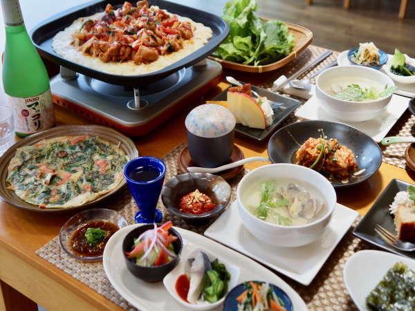 【赤川温泉 スパージュ】久住高原の韓国家庭料理の宿 赤川温泉スパージュ