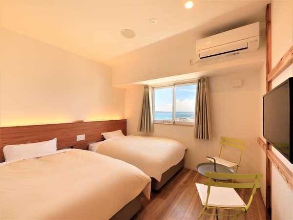 【新館ツイン】2021年6月新設!綺麗なお部屋で宮古島滞在をさらに快適に!