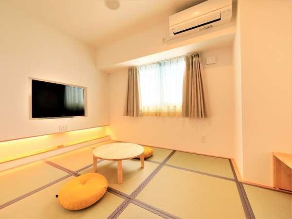 【新館和室】2021年6月新設!宮古島でも珍しいデザイナーズ和室!