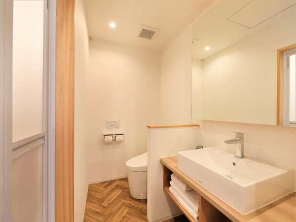 【新館ツイン・和室】シャワーブース