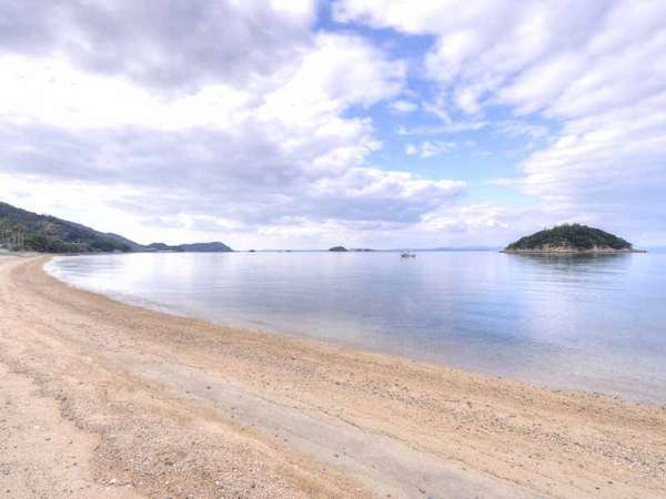 *穏やかな潮騒を聴きながら何もしない贅沢なひと時を。海水浴はもちろん、朝のお散歩に◎