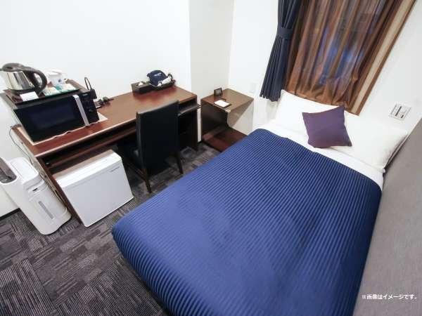 ◆シングルルーム◆全室空気清浄機ドを完備しております。※画像はイメージです。