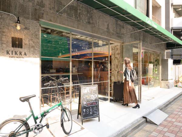 エントランスの写真です|ホテル&ホステルKIKKA東京