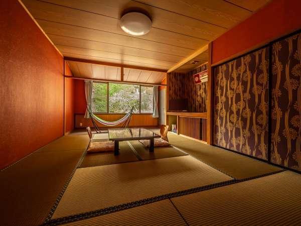 特別室(和室10畳+ベッドルーム+ドッグラン付)【客室一例】