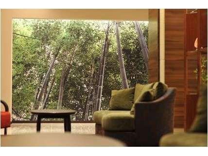 中津万象園の竹林