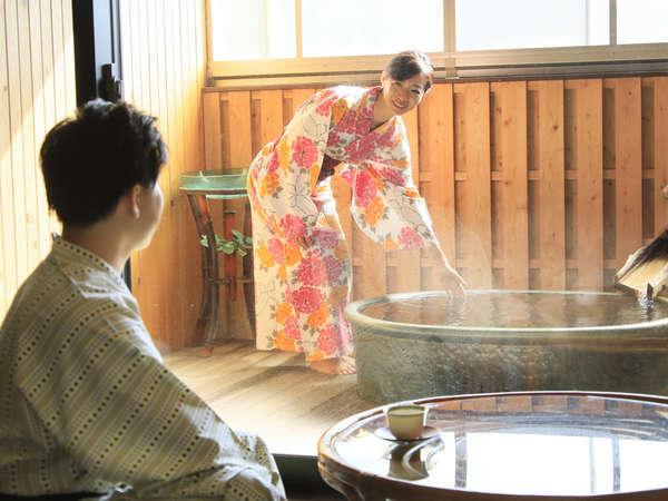 ◇露天風呂付き客室◇二人だけで過ごす特別な時間…