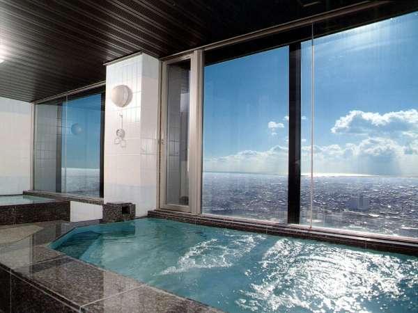 29階ヘルスクラブ内 展望浴場(有料)※晴れた日には遠州灘がご覧頂けます