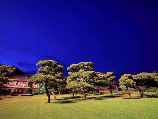 【お庭(豊松庭)】夜景