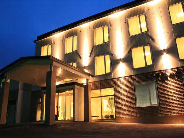 陶灯りの宿らうす第一ホテル外観