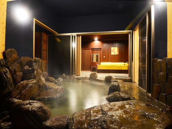 【心春(しんしゅん)】四季折々を楽しめるお庭の大露天風呂