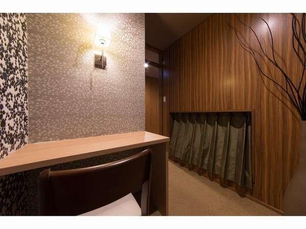 【1室限定/デラックスプラス2】当館で最も広い個室空間を有するお部屋です。室内テレビVOD導入!