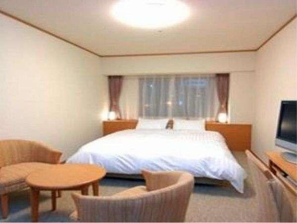 ◆【客室】『クイーンルーム』 広さ22平米 ベッドサイズ横160cm×縦205cm(1台)