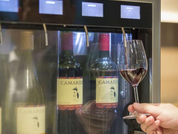 ご宿泊のお客さまへ、グラスワインを1杯プレゼント